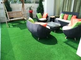 fake grass rug outdoor on courtyard carpet gives amazing look balcony home turf in green fake grass rug