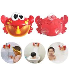 2018 bubble machine tub massive crab automated bubble maker blower 12 track bathtub toy for