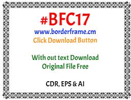 flower frame design elegant border clipart