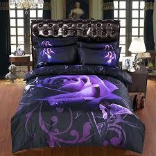 light purple duvet cover king purple duvet cover queen size luxury big purple rose bedding sets