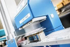 High Throughput Screening Machine Art Print By Gustoimages