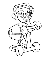 Small Picture Bob the builder Dizzie coloring page