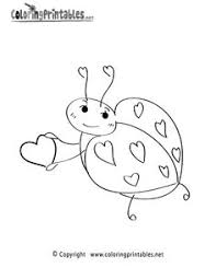 Small Picture Ladybug Coloring Pages To Print April2014 Pinterest Ladybug