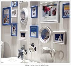 wall photo frame 16pcs lot black wood photo frame art home decor set elegant design wall
