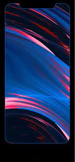 Iphone Xs Max Rainbow Edge Wallpaper