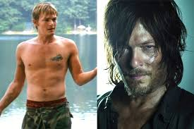 norman reedus floating the walking dead before they were famous