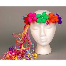 Paper Flower Hats Multicolor Flower Crown