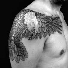 90 Bald Eagle Tetování Vzory Pro Muže Nápady Které Stoupají Vysoké