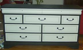 two tone furniture painting. final version of painted twotone dresser two tone furniture painting u