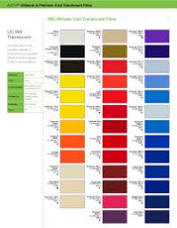 Gerber 220 Color Chart Gerber Series 220 And 225 Color