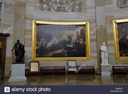 the painting declaration of independence in the us capitol rotunda stock photo 75554675 alamy