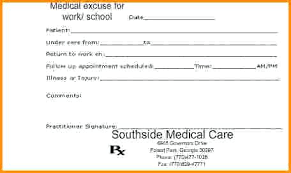 An Example Of A Fake Doctors Note Maker Beadesigner Co