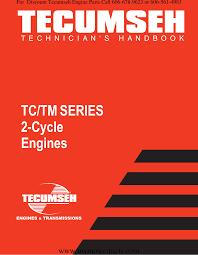 Tciii Tecumseh Service Repair Manual 2 Cycle Tc Tm Tc200
