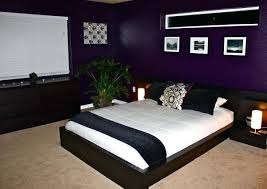 Dark Purple And Black Bedroom Ideas