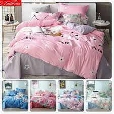 details about new leopard print duvet cover set double bed pink