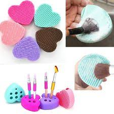 silicone makeup brush cleaner. silicone makeup brush cleaner pad washing scrubber board cleaning mat beauty# a