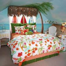 Beach Themed Girls Rooms   Tropical+jungle+themed+girls+hula+hawaiian