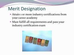 Merit Designation Ib Class Of Ppt Download