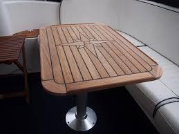 Tavolo In Teak Per Barche : Teak tavolo stella amp morbido six taglie marina motorhome