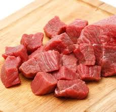 beef. Perfect Beef Beef Stew Cut 1 X Inch Cubes Fresh  Milk And Eggs On R