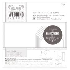 Blank Save The Date Cards Wedding Ever After Save The Date White Blank Cards Craftyarts Co Uk