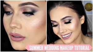 romantic sultry wedding bridal makeup tutorial summer 2016 nowchic