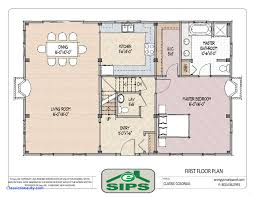 small open floor house plans best of cozy colonial plans open concept classic open concept plan