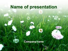 Spring Powerpoint Green Spring Powerpoint Template P1
