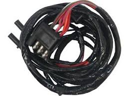 64 falcon engine gauge feed wiring harness, 6 cyl, alloy metal's