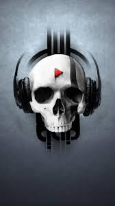 headphones skull