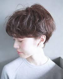 2018トレンド くせ毛で楽しむショートヘアカタログ特集 Arine