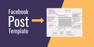 The Perfect Facebook Post Template Social Media Online Classes