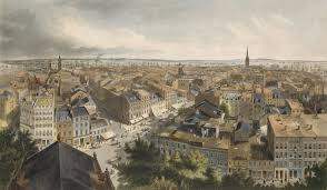 conclusion visualizing th century new york fig 5 henry a papprill after john william hill new york from the steeple of st paul s church looking east south and west 1848