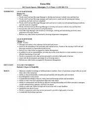 Sample Bartending Resumes Best Of Lead Bartender Resume Samples Velvet Jobs With Resume Sample