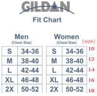 Unisex Gildan Sizing Charts Faqs The Hijinks Ensue Store