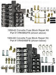 repair components 1976 Corvette Fuse Box Connectors 97 Corvette