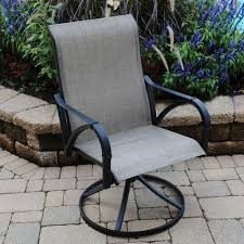 backyard creations augustine swivel