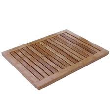 Oceanstar Bamboo Floor or Outdoor Mat - Free Shipping On Orders Over $45 -  Overstock.com - 13137406