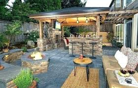 covered outdoor living spaces plans space floor design best architectures amazing decorating ideas