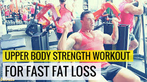 upper body strength workout for fast fat loss view larger image