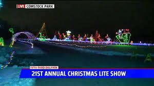 Fifth Third Ballpark Lights Christmas Lite Show Kicks Off At Fifth Third Ballpark For