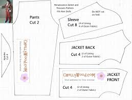 Free Printable Doll Clothes Patterns For 18 Inch Dolls Unique Inspiration Ideas