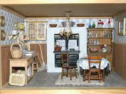 Kitchen Dollhouse Furniture 3d Printed Dollhouse Kitchen Dollhouse Rooms Pinterest