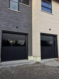 Garage Door garage door exterior trim photographs : Garage : Modern Garage Doors With Cedar Soffit Also Driveway ...