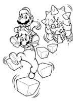Small Picture Free printable Mario Bowser coloring pages For Boys