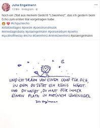 Bild Zitat Julia Engelmann Zitate Löwenherz