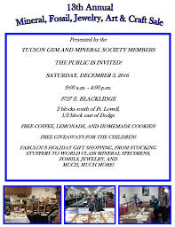 events list tucson gem mineral society to a flyer click here