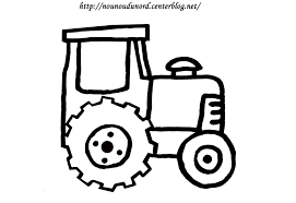 Dessin Coloriage Imprimer Tracteur