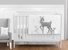 11pc crib bedding set for the forest deer collection by sweet jojo designs com