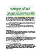 romeo and juliet act scene why is juliet under so much  act 3 scene 5 examine the ways in which shakespeare makes us sympathise
